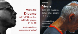 Mamadou Dioume e Bruce Myers per il TRA