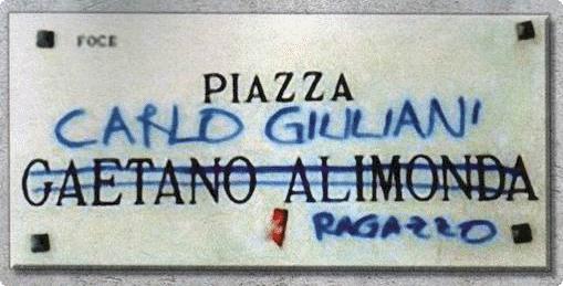 p.za Carlo Giuliani